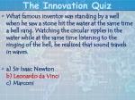 the innovation quiz20
