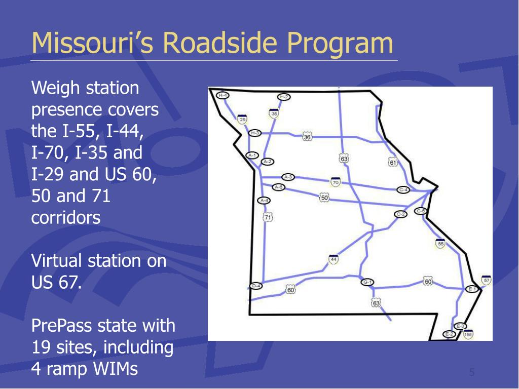 Missouri's Roadside Program