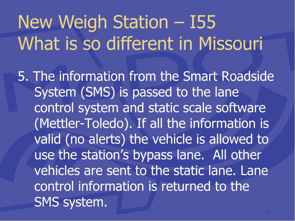 New Weigh Station – I55