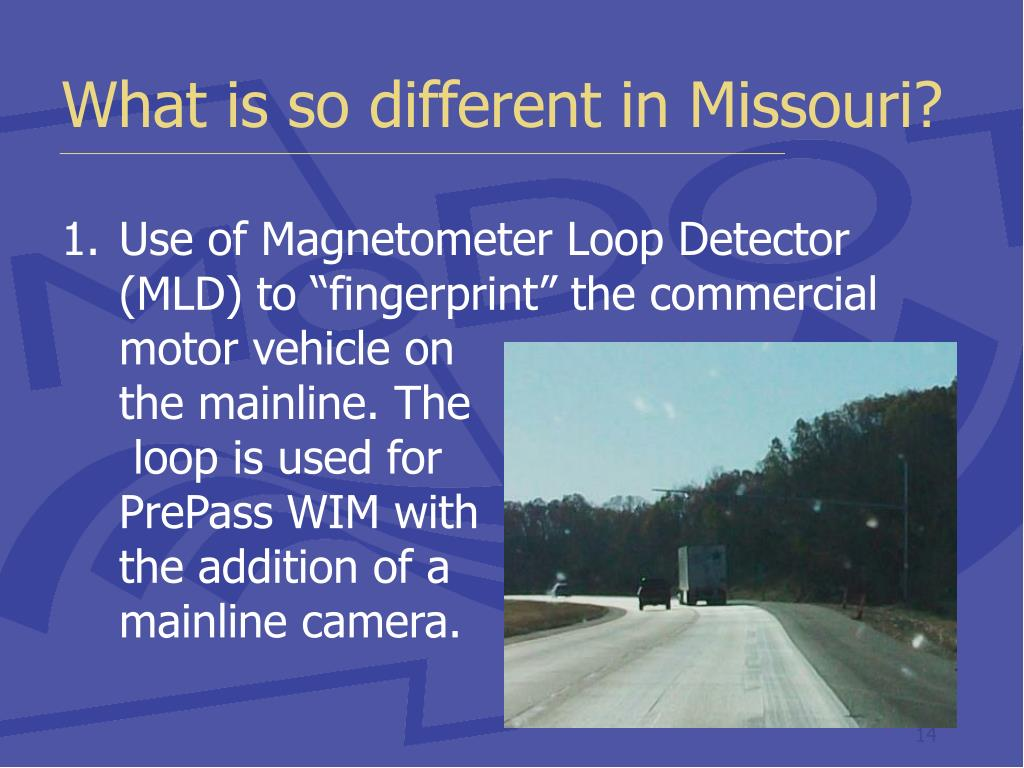 What is so different in Missouri?