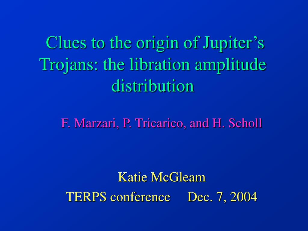 clues to the origin of jupiter s trojans the libration amplitude distribution