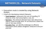 methods 3 network datasets