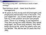 recruiting young staff spontaneous result or bank strategy1