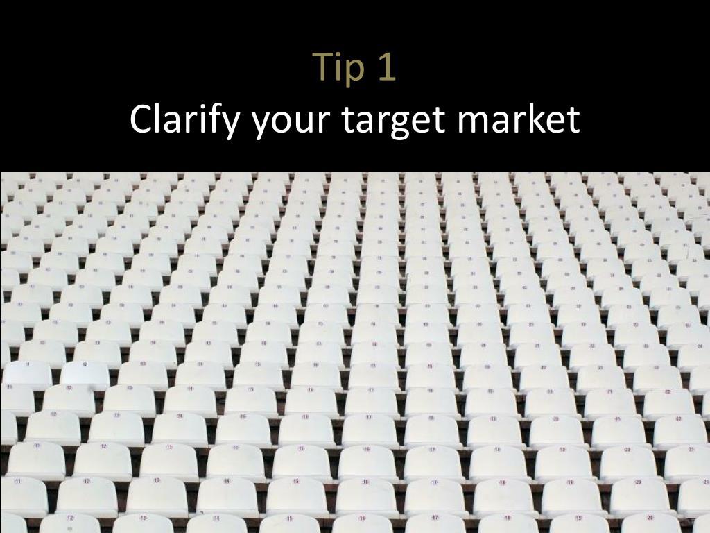 Tip 1