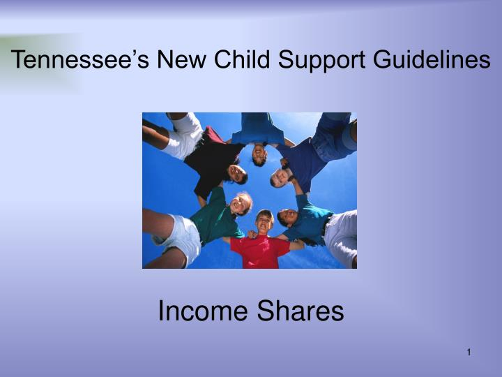 tennessee s new child support guidelines