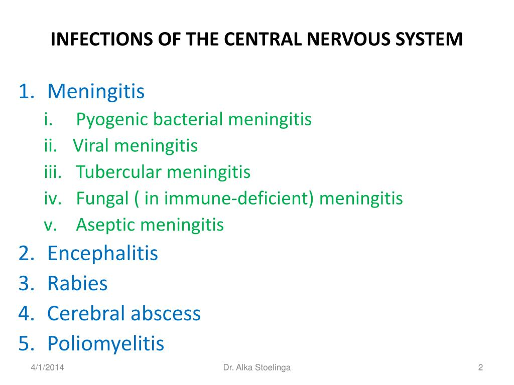 the causes and characteristics of the encephalitis disorder of the central nervous system Inflammatory diseases of the central nervous system information including symptoms, causes, diseases, symptoms, treatments, and.