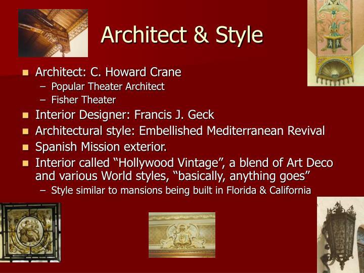 Architect & Style