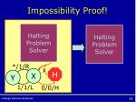 impossibility proof