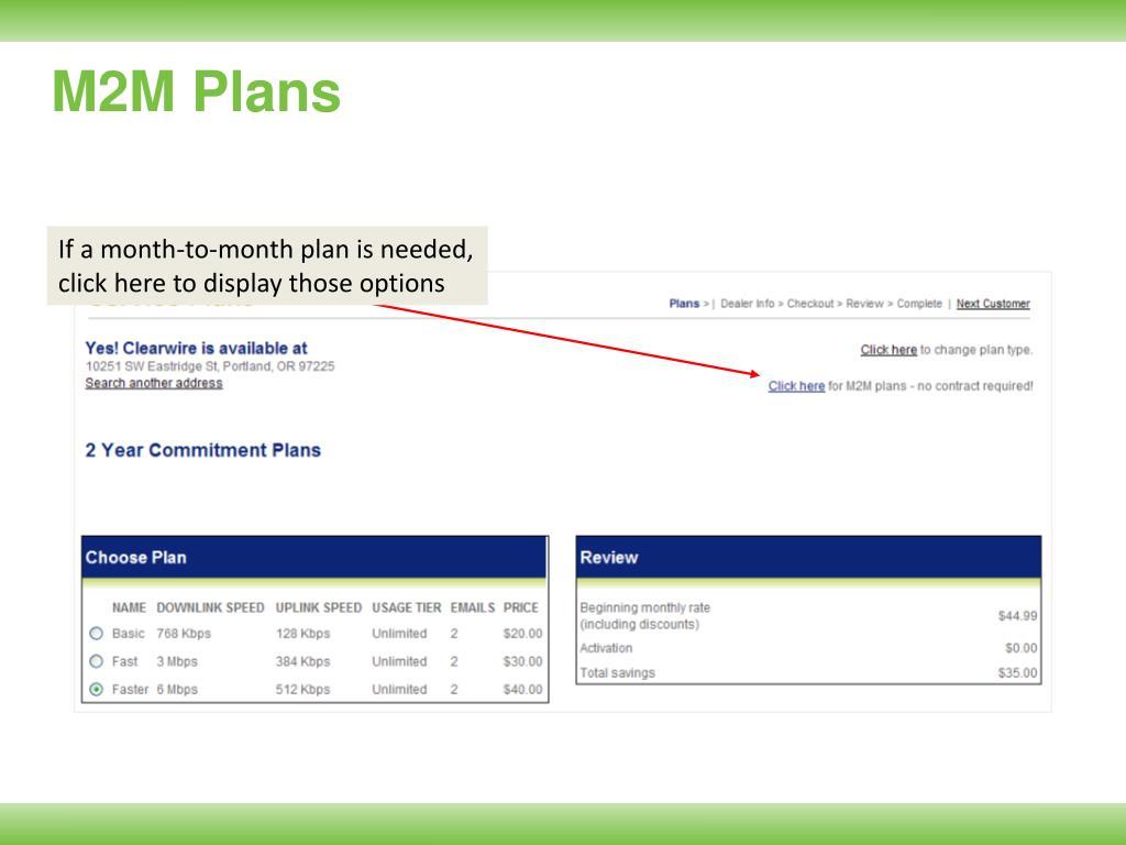 M2M Plans