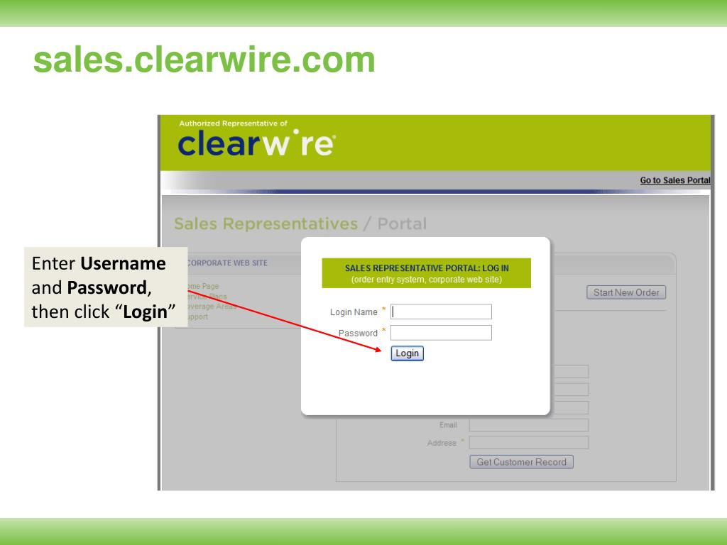 sales.clearwire.com