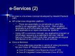 e services 2