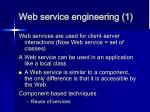web service engineering 1