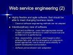 web service engineering 2