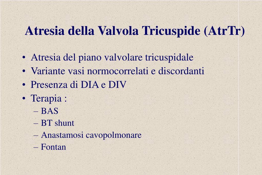 Atresia della Valvola Tricuspide (AtrTr)