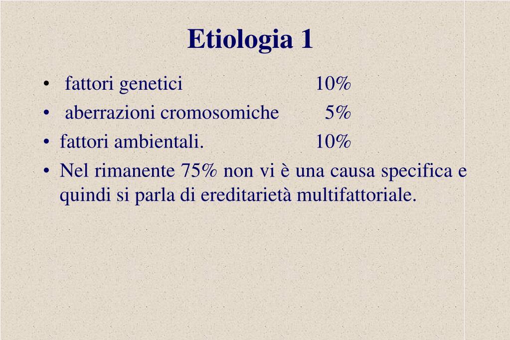 Etiologia 1