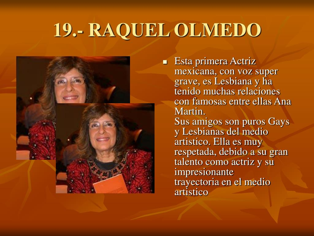 19.- RAQUEL OLMEDO