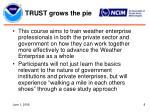 trust grows the pie