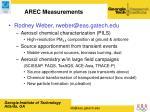arec measurements16