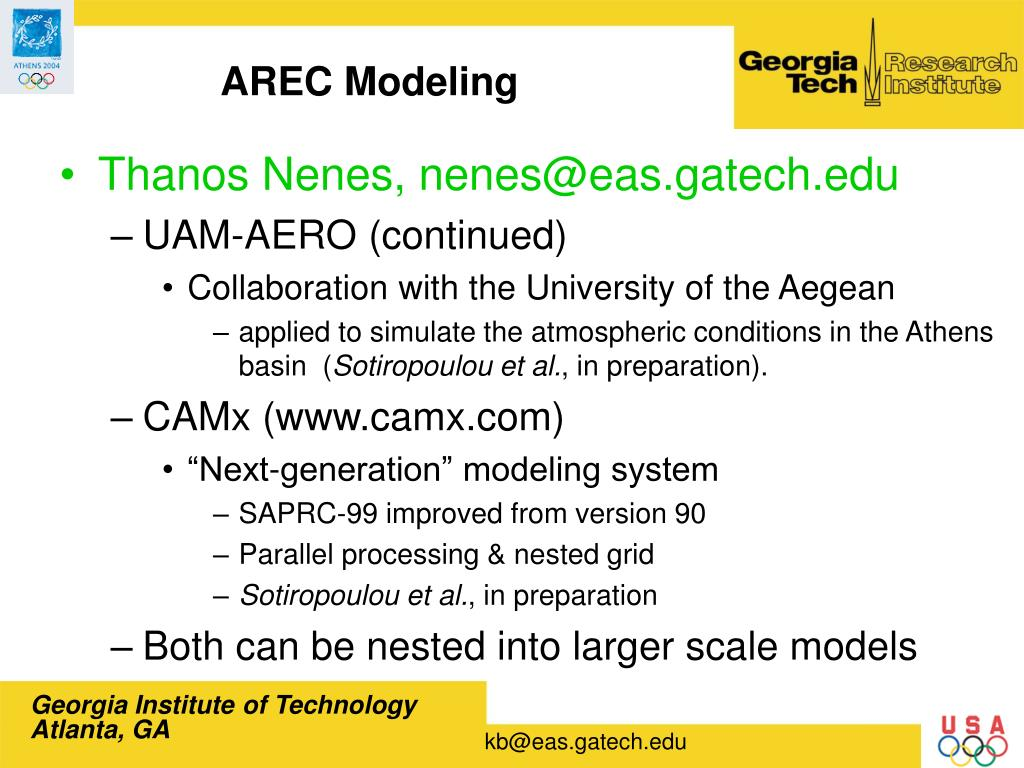 AREC Modeling