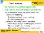 arec modeling25