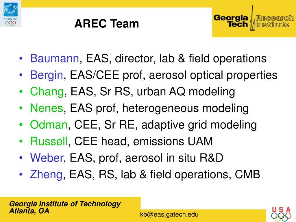 AREC Team
