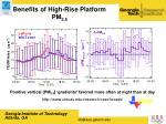 benefits of high rise platform pm 2 5