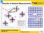benefits of network measurements