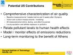 potential us contributions
