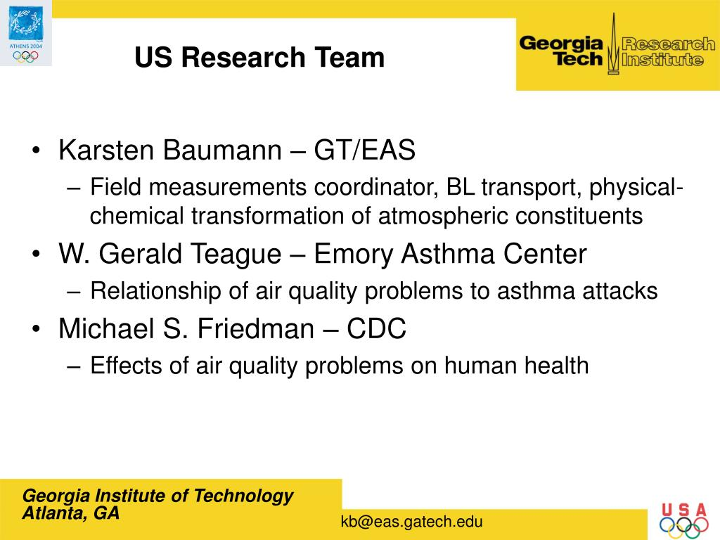 US Research Team