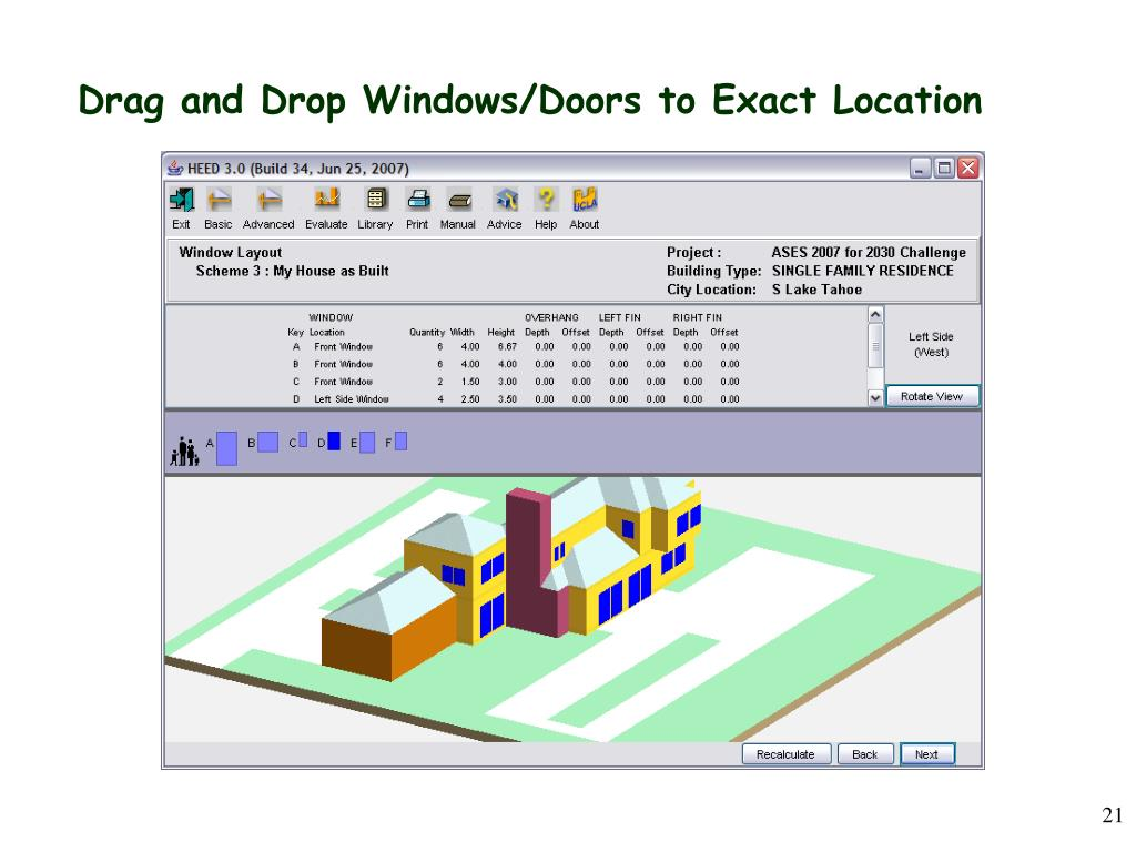 Drag and Drop Windows/Doors to Exact Location