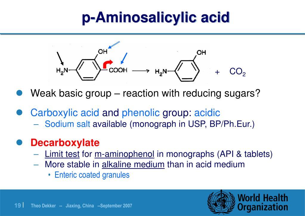 p-Aminosalicylic acid