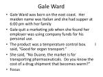 gale ward