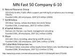 mn fast 50 company 6 10