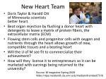new heart team