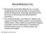 reconrobotics inc