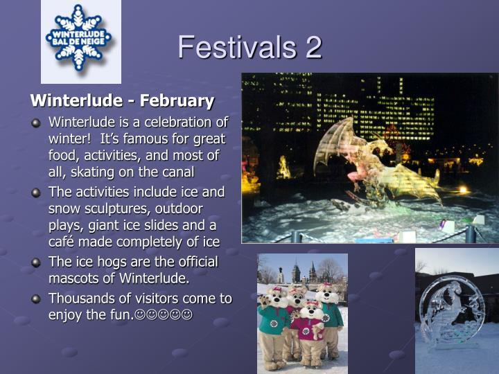 Festivals 2