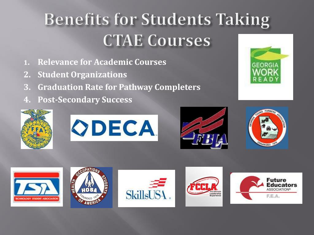 Benefits for Students Taking