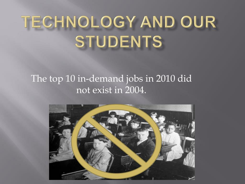 Technology and Our Students