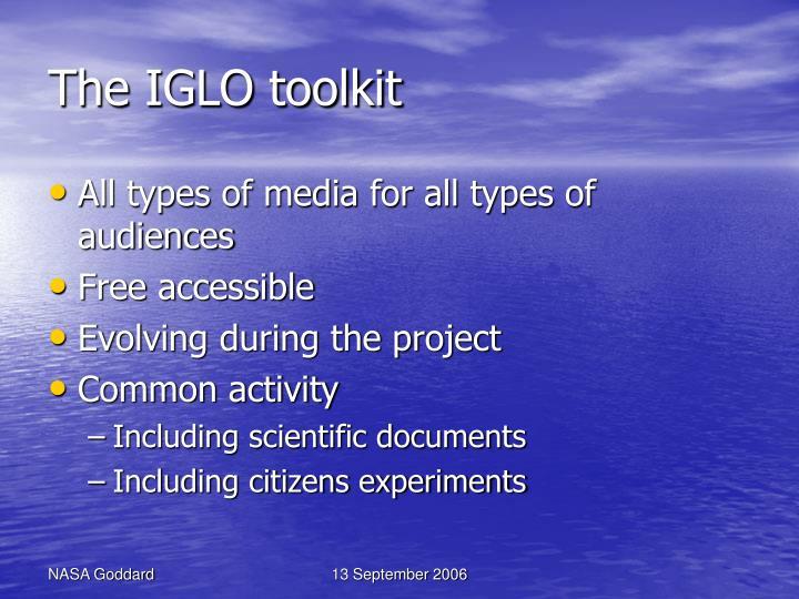 The IGLO toolkit