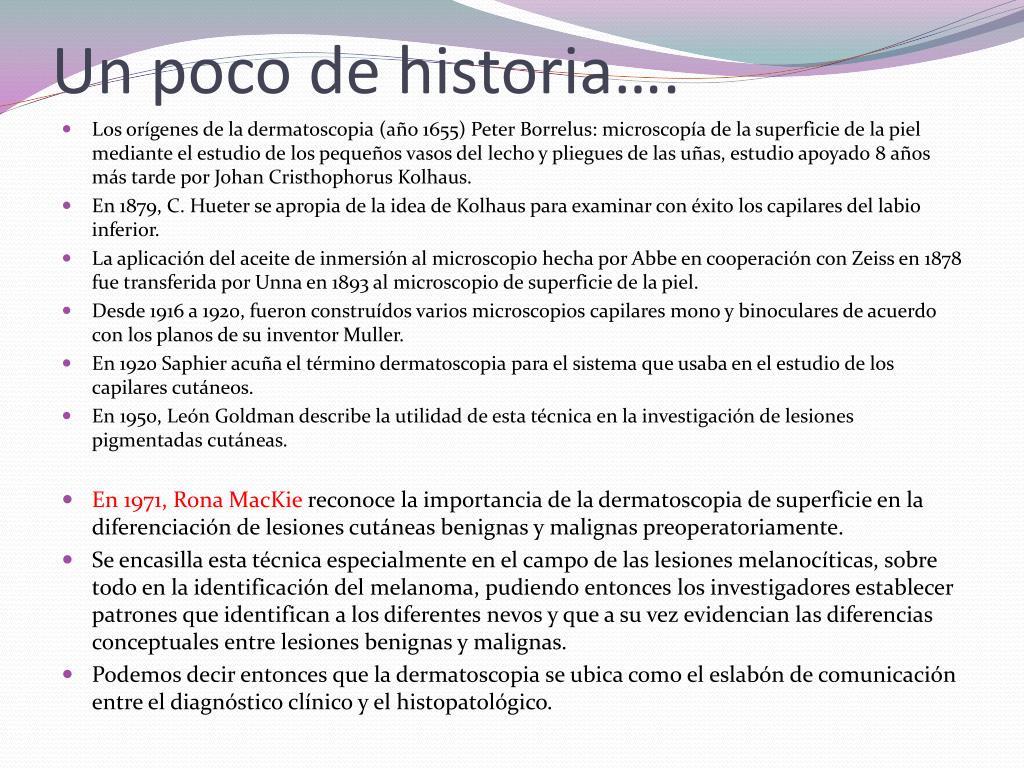Un poco de historia….