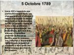 5 octobre 1789