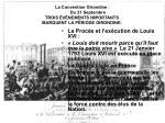 la convention girondine du 21 septembre trois v nements importants marquent la p riode girondine
