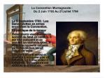 la convention montagnarde du 2 juin 1793 au 27juillet 1794