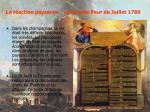 la r action paysanne la grande peur de juillet 1789