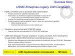 usmc enterprise legacy iuid campaign