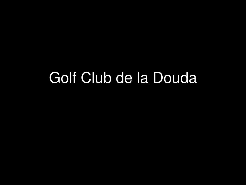 golf club de la douda