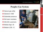 peoples gas system