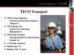 teco transport