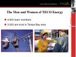 the men and women of teco energy