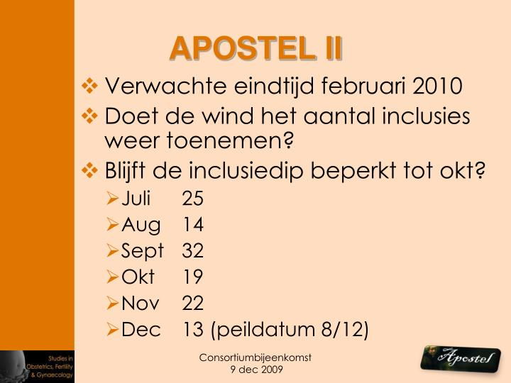 APOSTEL II